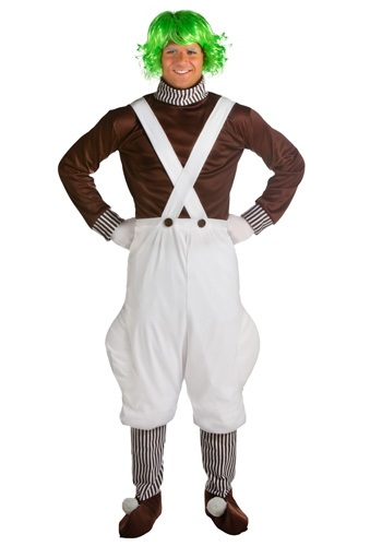 chocolate factory worker costume