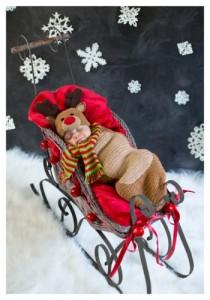 infant reindeer costume