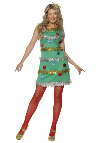 womens christmas tree costume