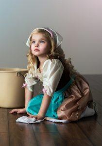 cinderella maid costume