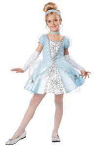 deluxe girls cinderella costume