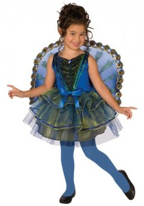 childrens peacock costume