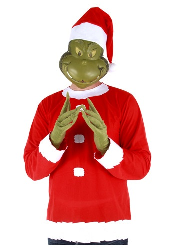 adult grinch costume