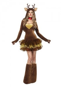 sexy reinder costume for women