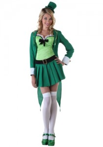 womens leprechaun costume